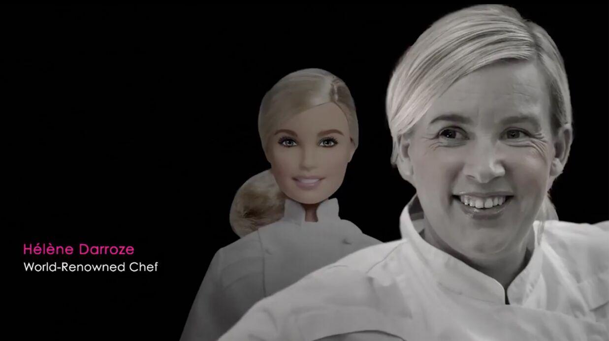 Hélène Darroze dévoile une Barbie à son effigie