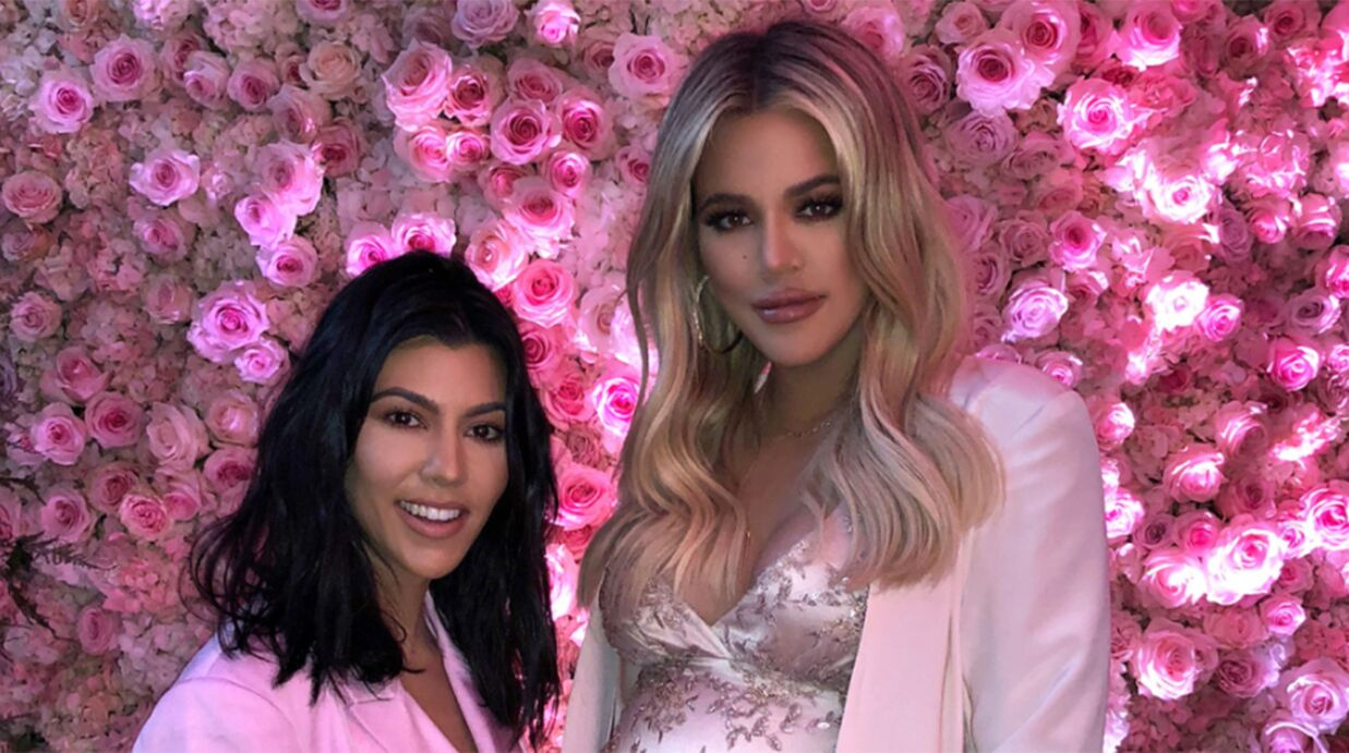 PHOTOS Khloé Kardashian enceinte: découvrez son incroyable Baby Shower