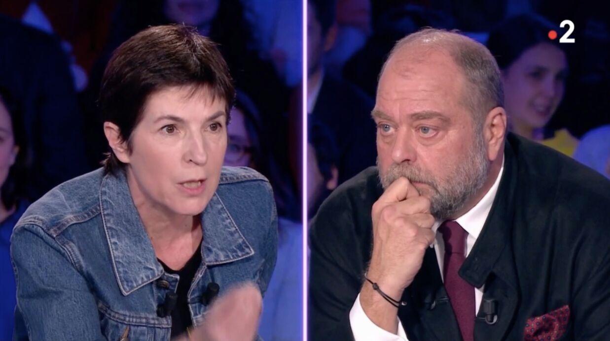 Violent clash entre Eric Dupond-Moretti et Christine Angot