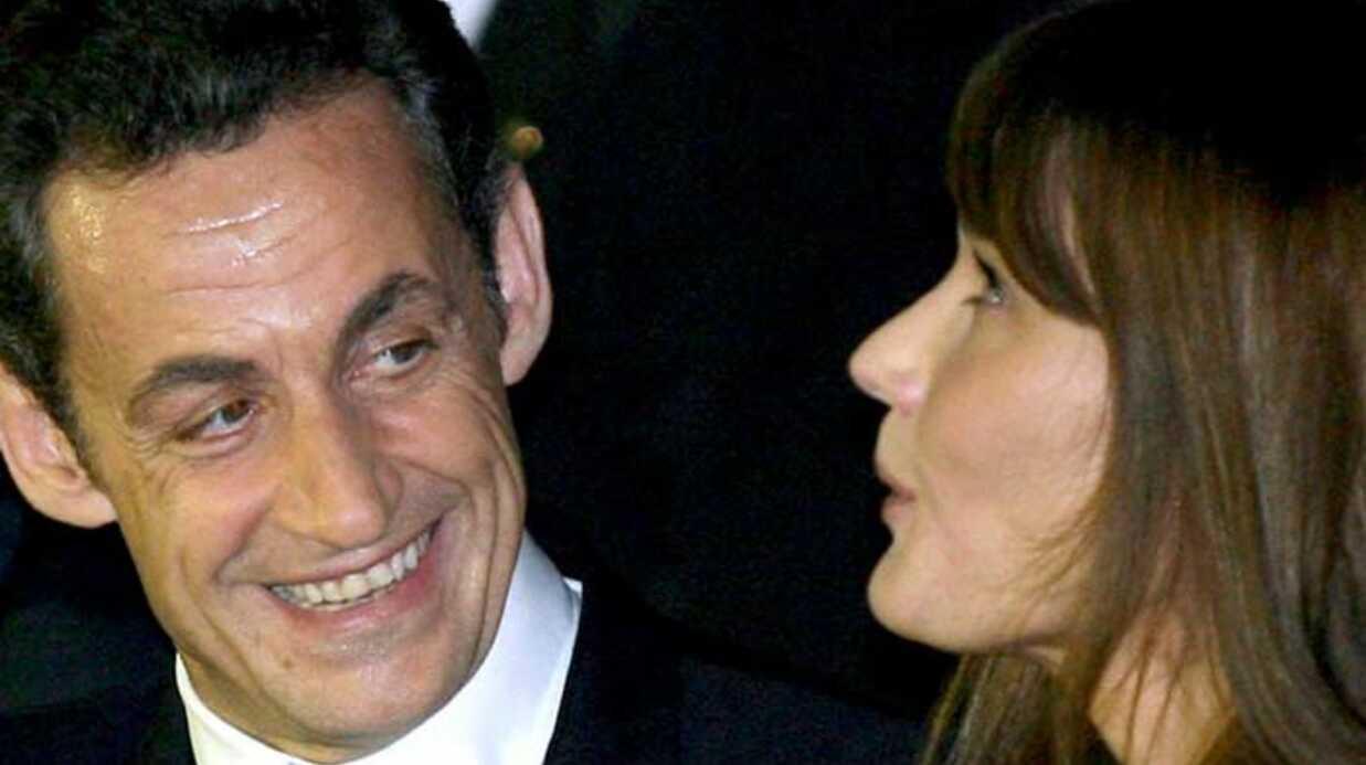 PHOTOS Nicolas Sarkozy et Carla Bruni mariés depuis 1 an