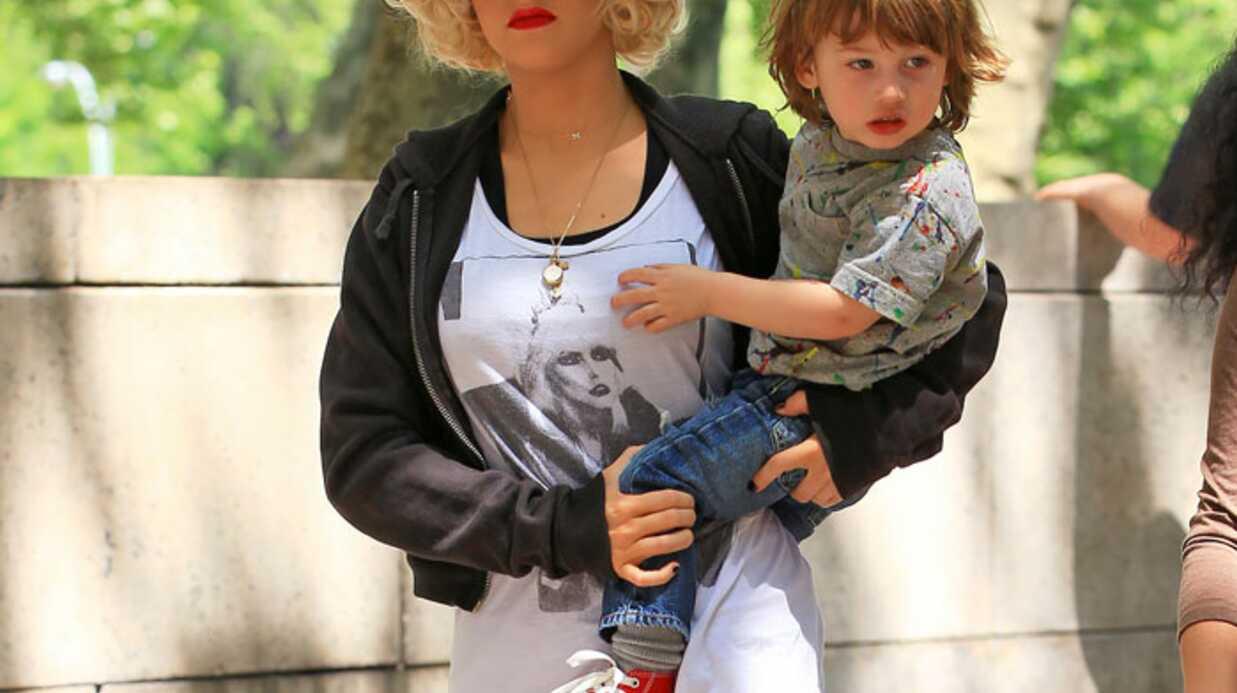 PHOTOS Christina Aguilera initie son fils Max à la culture