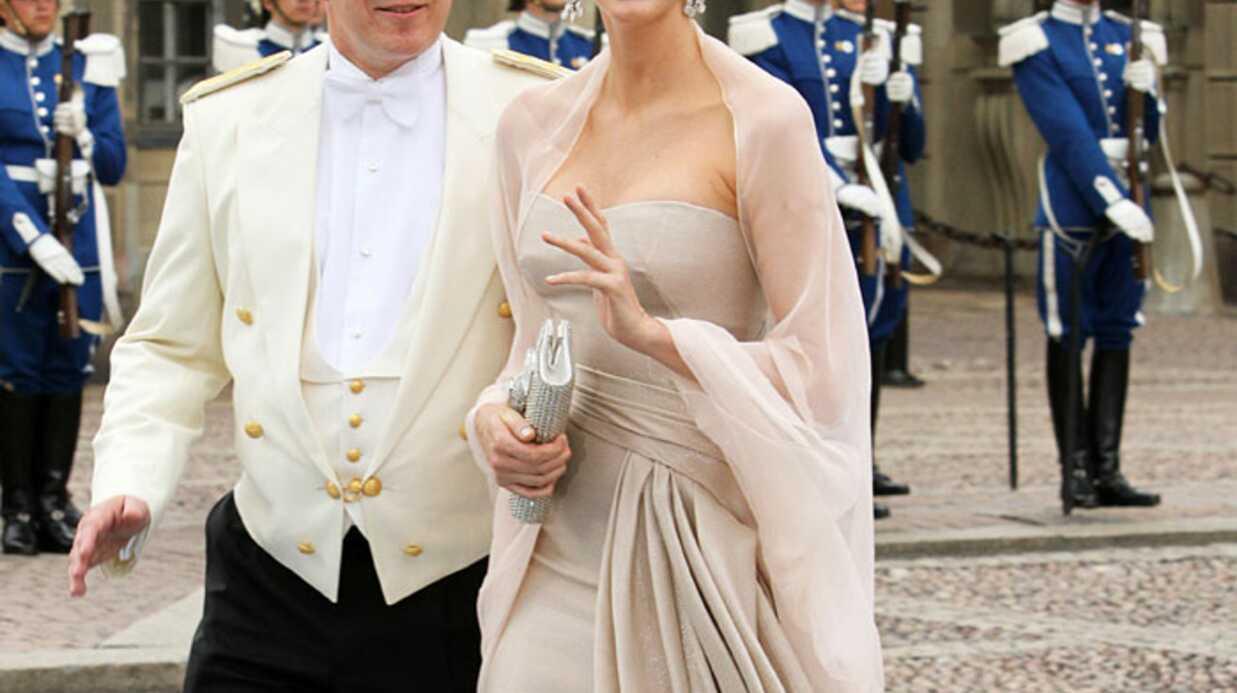 PHOTOS Albert de Monaco et Charlene au mariage de Victoria