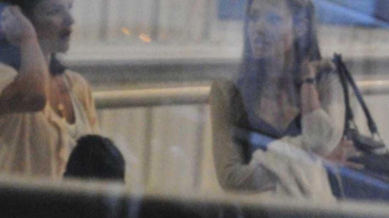 PHOTOS Angelina Jolie à l'aéroport de Washington