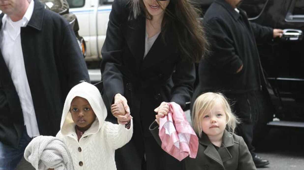 PHOTOS Angelina Jolie avec Shiloh et Zahara… qui ont bien grandi!