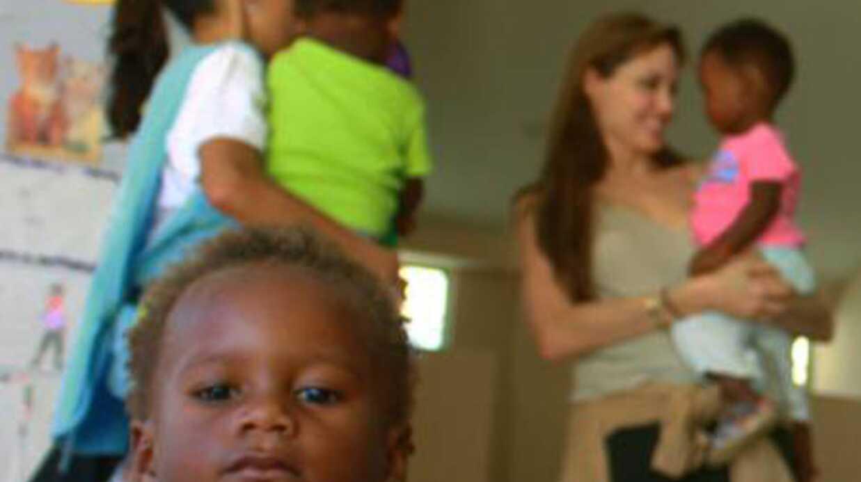 PHOTOS Angelina Jolierend visite à des réfugiés en Equateur
