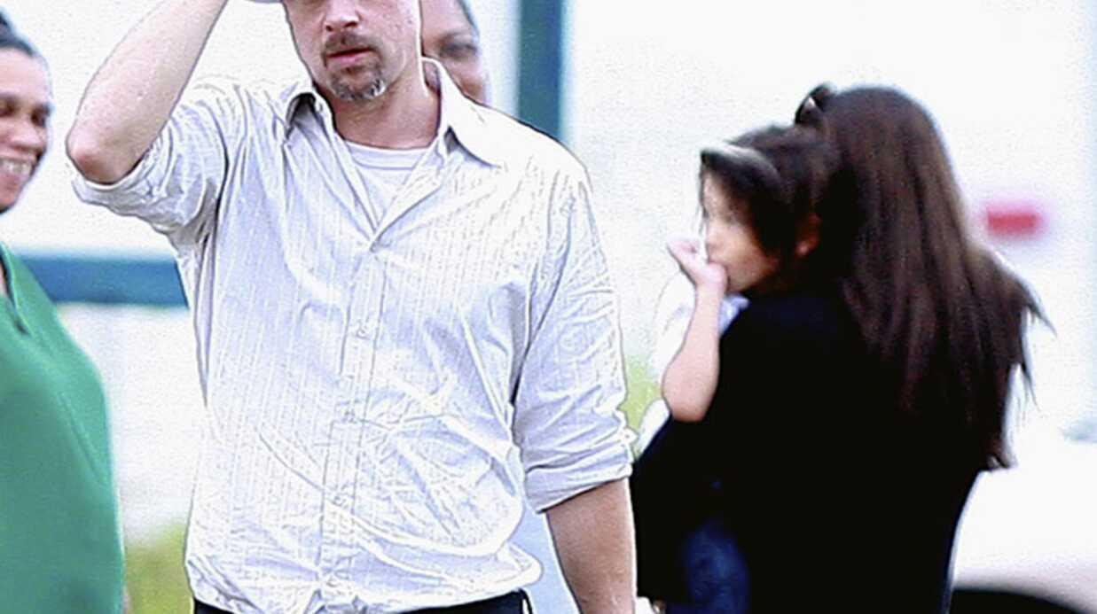 Angelina Jolie et Brad Pitt à la Nouvelle Orélans