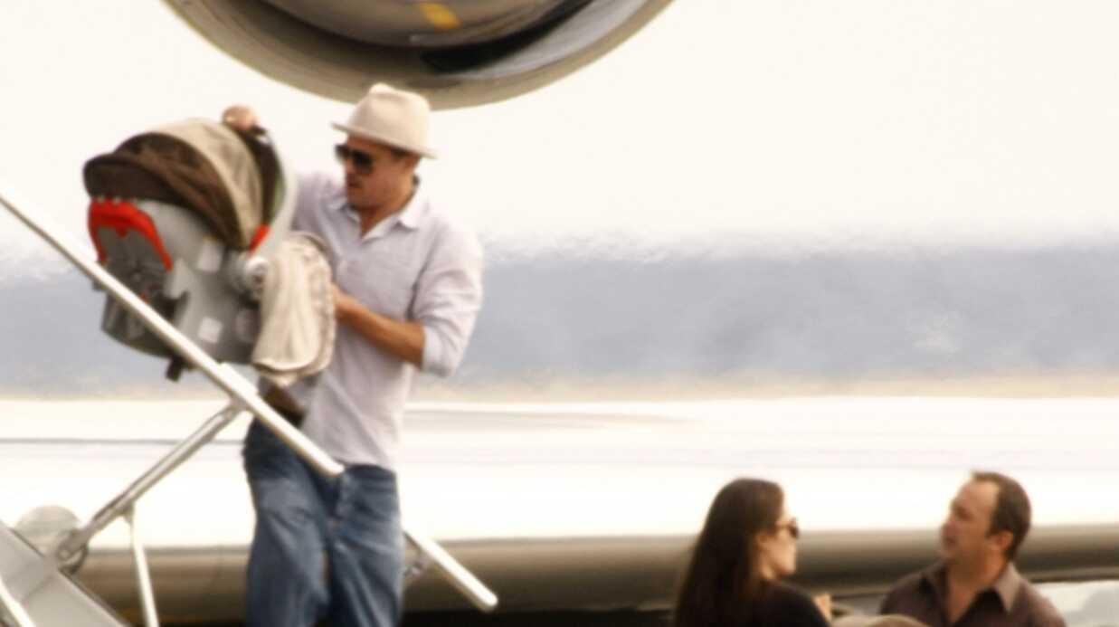 Photos de Brad Pitt et Angelina Jolie de retour à Nice!