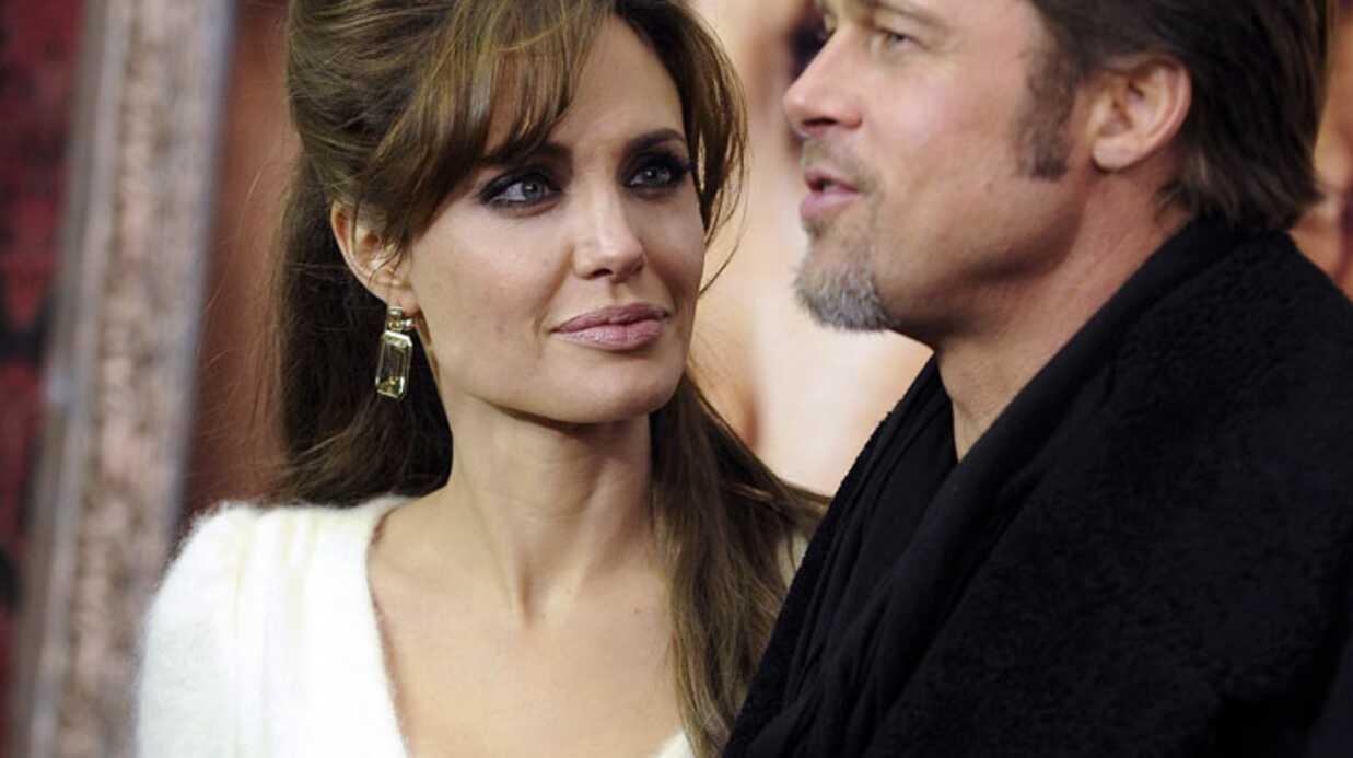 Angelina Jolie divine et amoureuse à la première de The Tourist