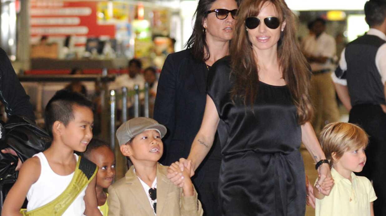 PHOTOS Angelina Jolie et ses enfants au Japon
