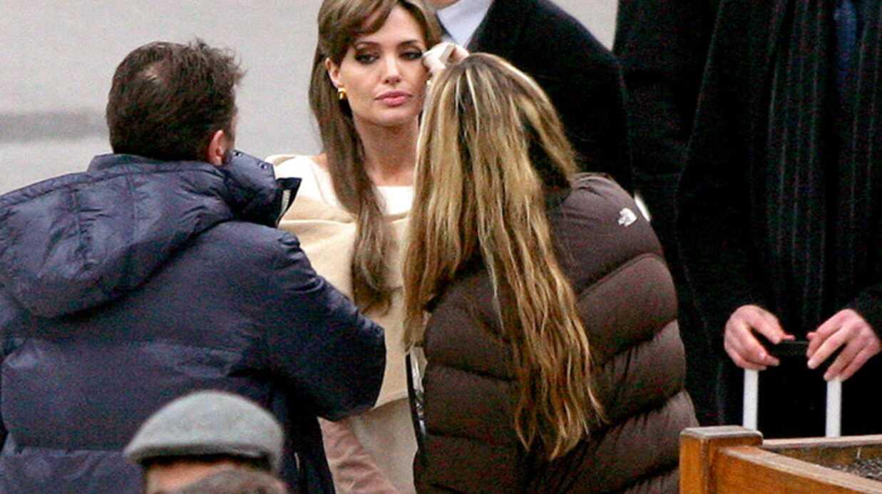 PHOTOS Angelina Jolie sur les traces de Sophie Marceau
