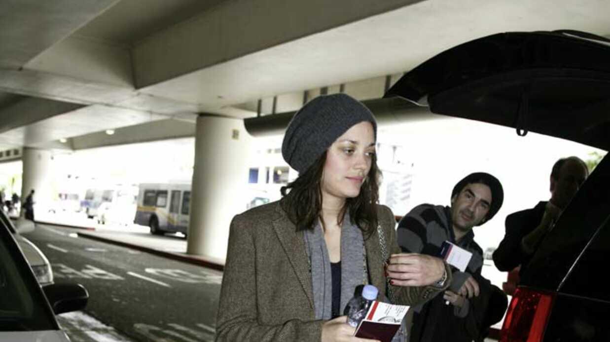 PHOTOS Marion Cotillard débarque à Los Angeles pour les Oscars