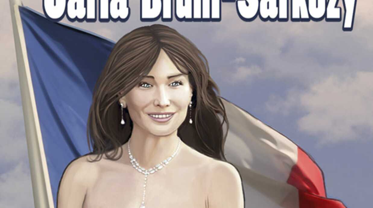 PHOTOS Carla Bruni héroïne d'une bande dessinée aux USA