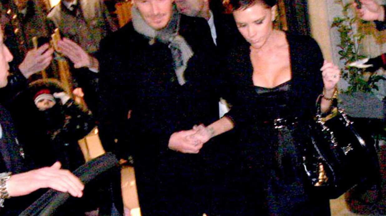 PHOTOS Victoria et David Beckham à Milan