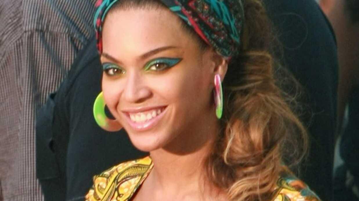PHOTOS Beyonce et Alicia Keys sur le tournage de leur clip