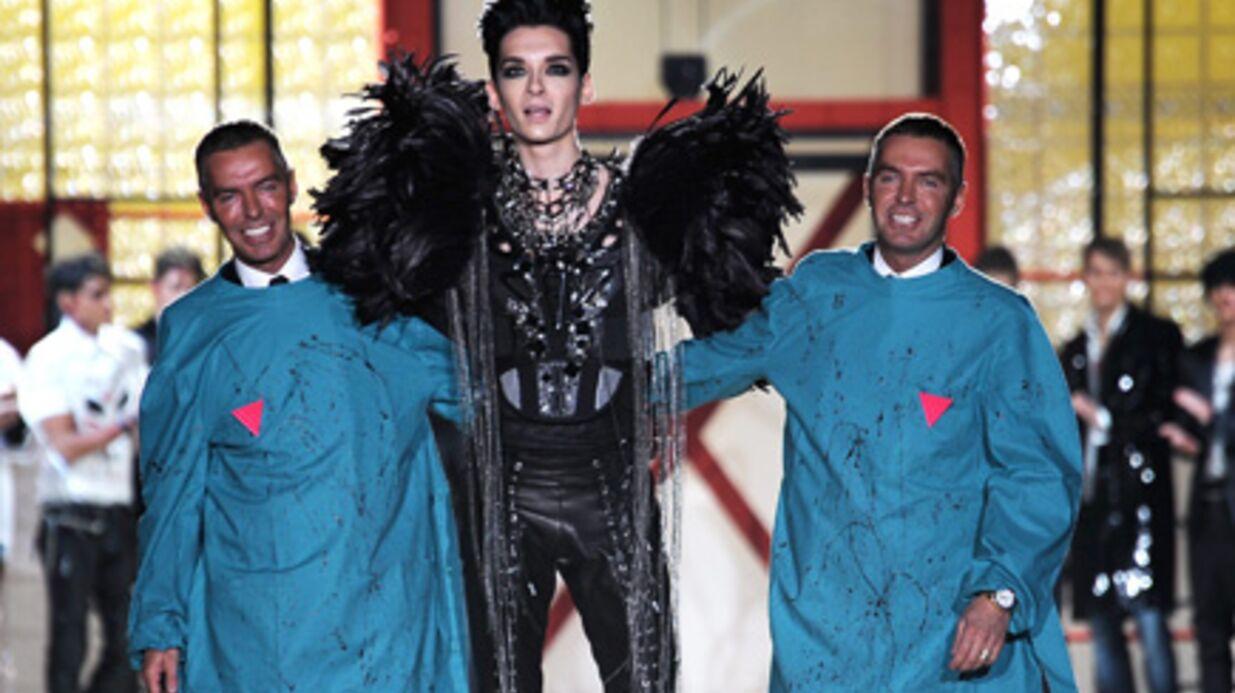 PHOTOS Bill Kaulitz des Tokio Hotel star du défilé Dsquared
