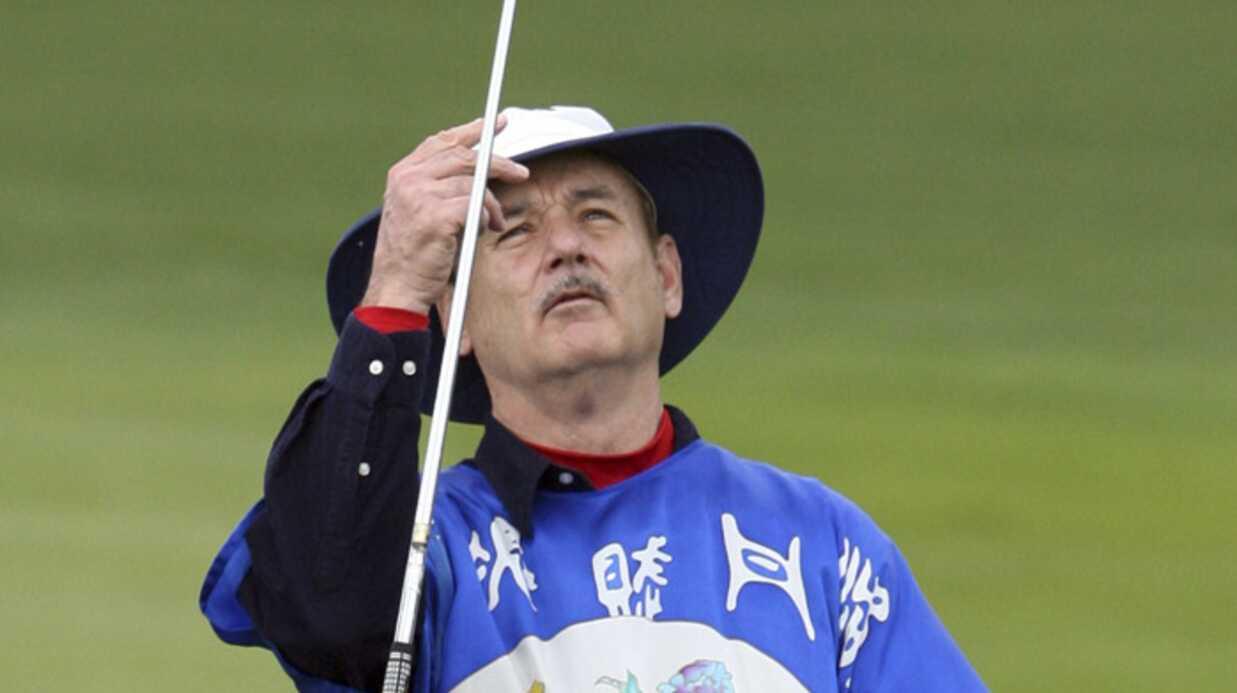 PHOTOS Bill Murray frappe accidentellement une fan au golf