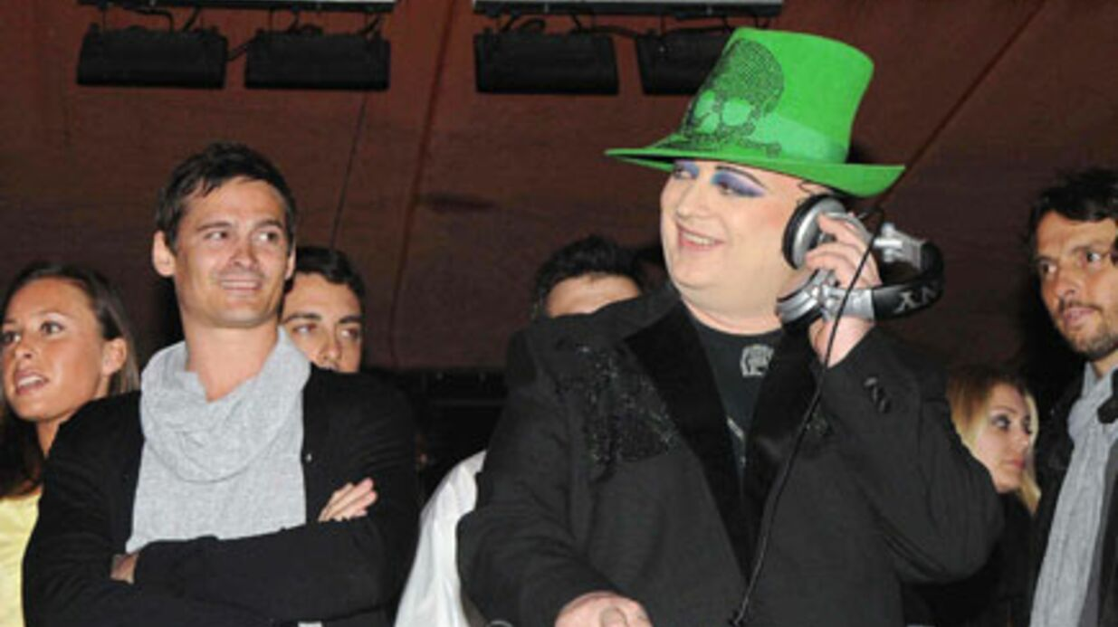 PHOTOS : Boy George mixe à la Sergio Tacchini VIP Party
