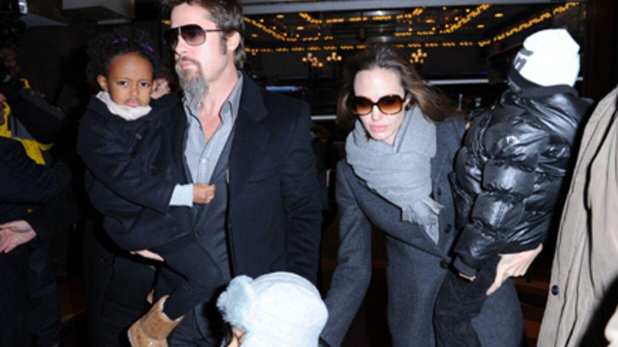 PHOTOS Brad Pitt – Angelina Jolie: Mary Poppins avec les kids
