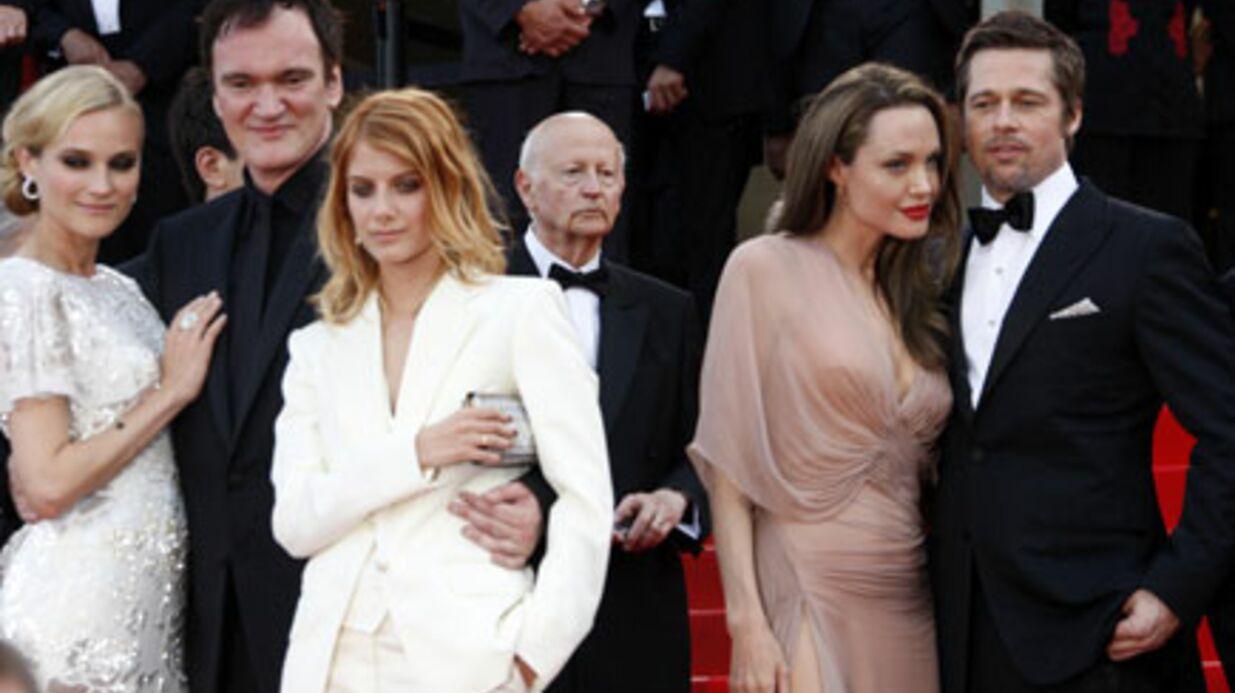 PHOTOS Inglorious Basterds: Brad et Angelina sur les marches