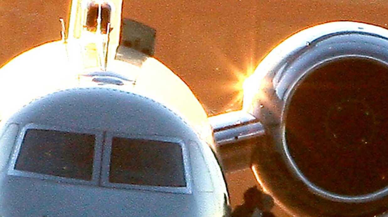 PHOTOS – Brad Pitt aime faire de l'avion en solo