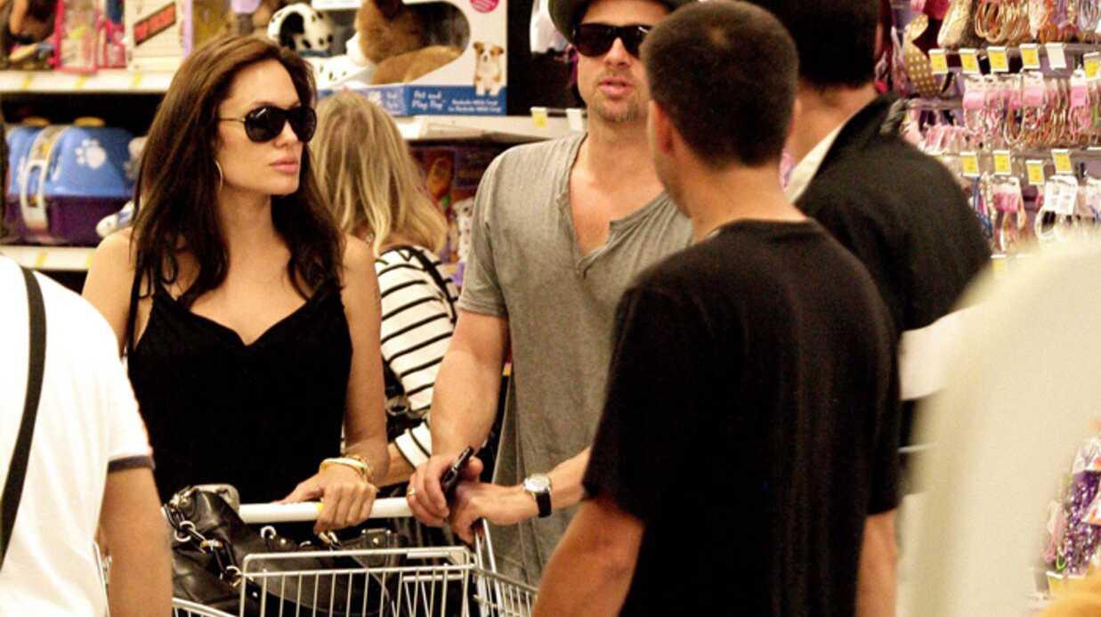 Brad Pitt – Angelina Jolie Devine qui j'ai vu chez Toys'R'Us