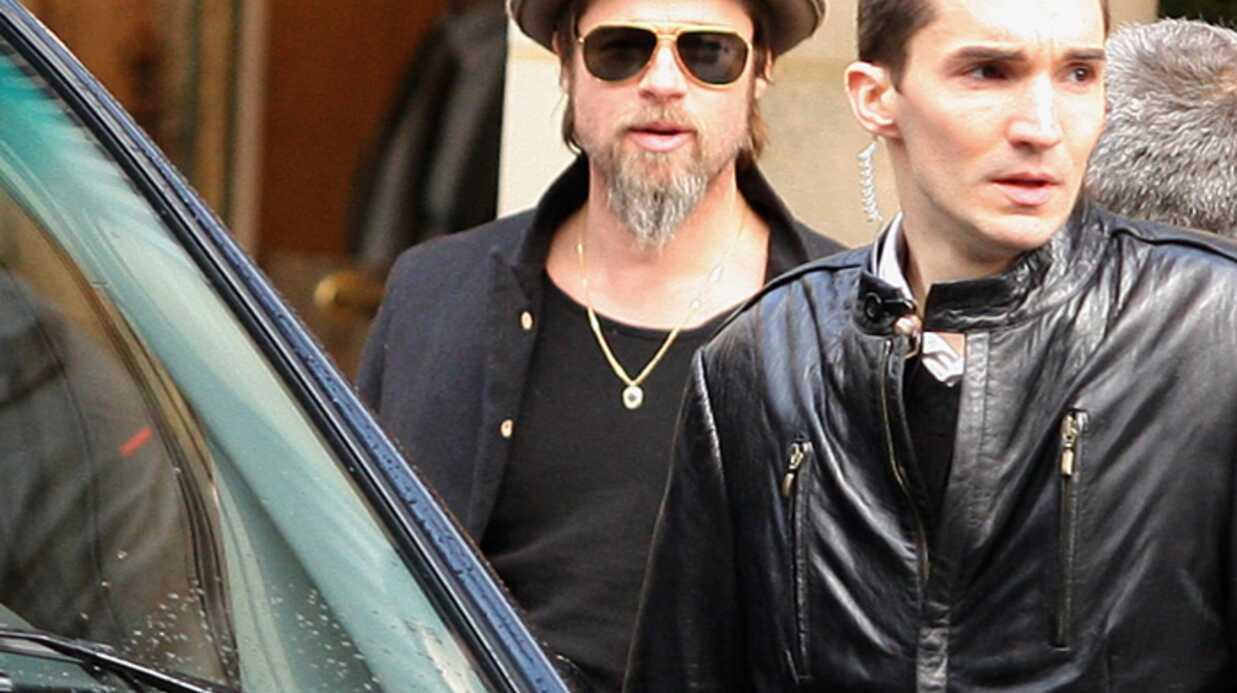 Brad Pitt: un shopping à 7000 euros à Paris