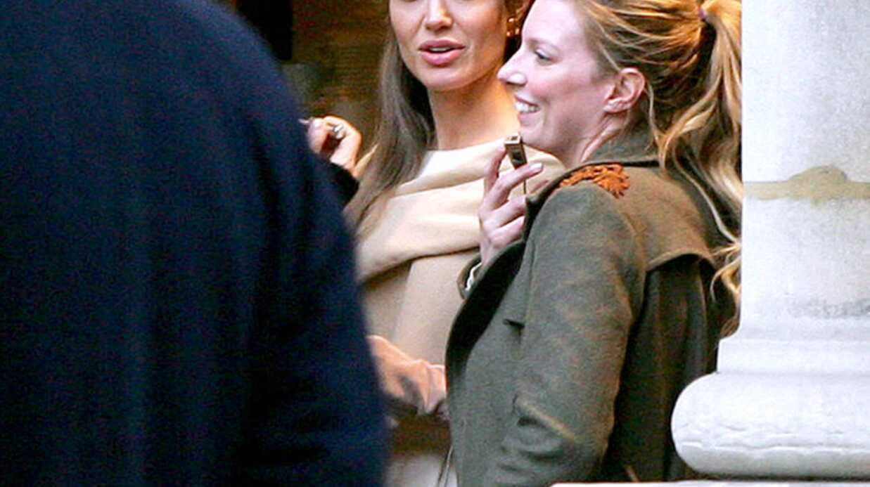 PHOTOS Angelina Jolie en tournage à Paris: Brad était là