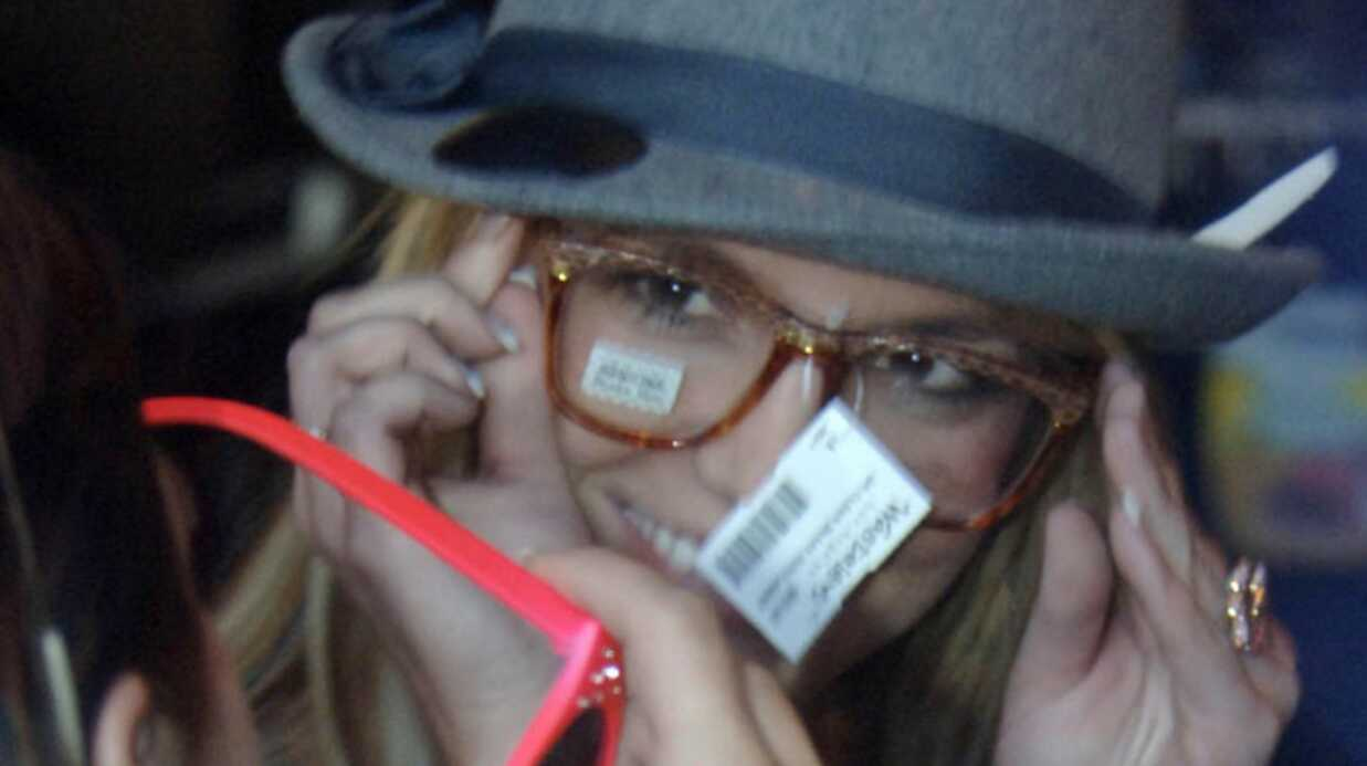 Britney Spears fait du shopping