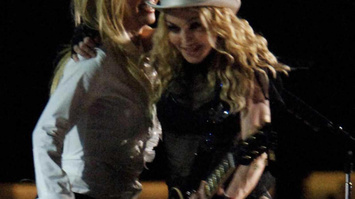 Photos: Britney Spears et Madonna sur scène