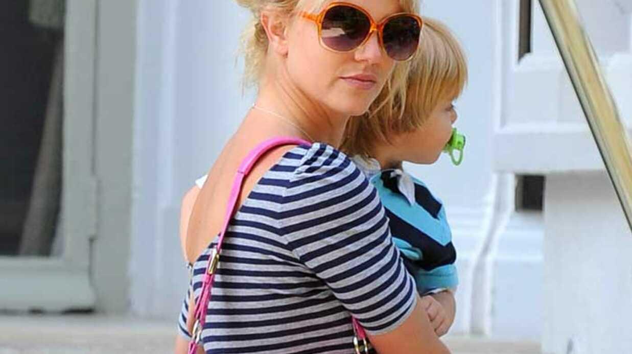 PHOTOS Britney Spears au parc avec ses enfants