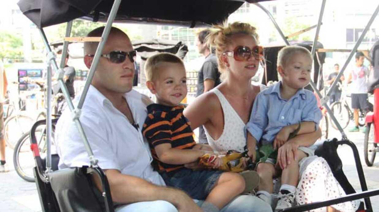 PHOTOS Britney Spears en balade à Central Park avec ses fils