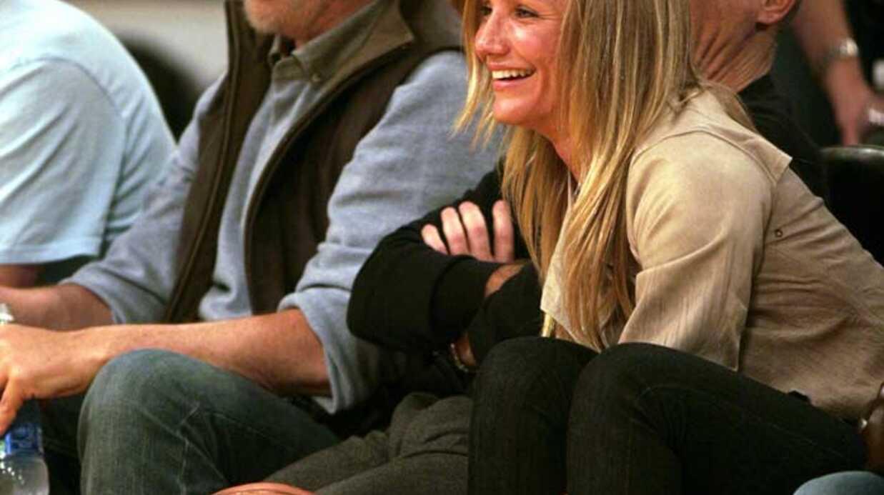 PHOTOS Cameron Diaz n'a pas perdu le sourire ni l'appétit!