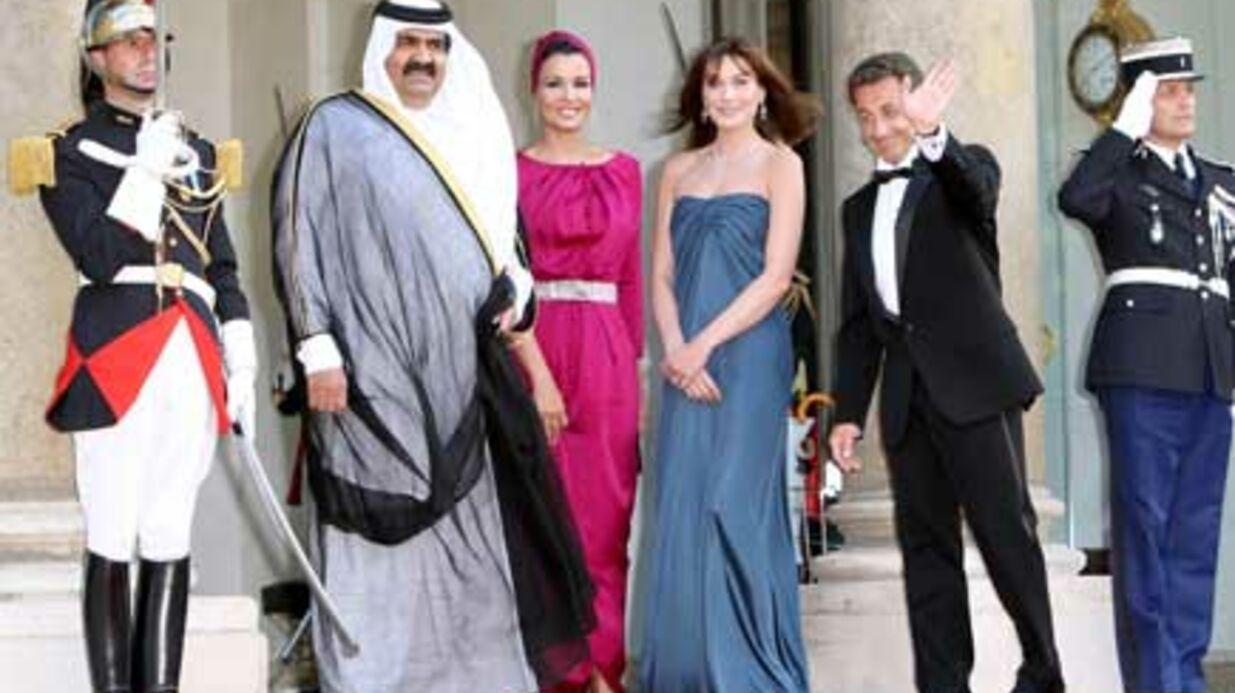 LOOK  Carla Bruni Sarkozy et Sheikha Mozah sont très élégantes