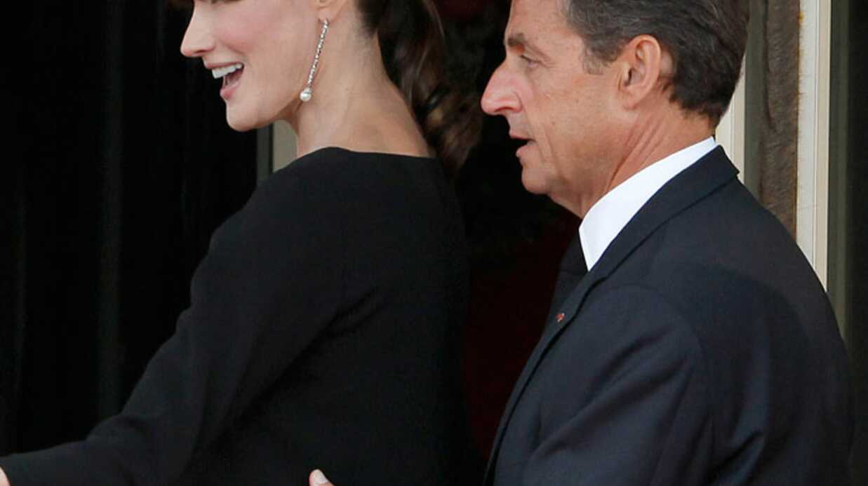 PHOTOS Carla Bruni et Nicolas Sarkozy affichent leur bonheur