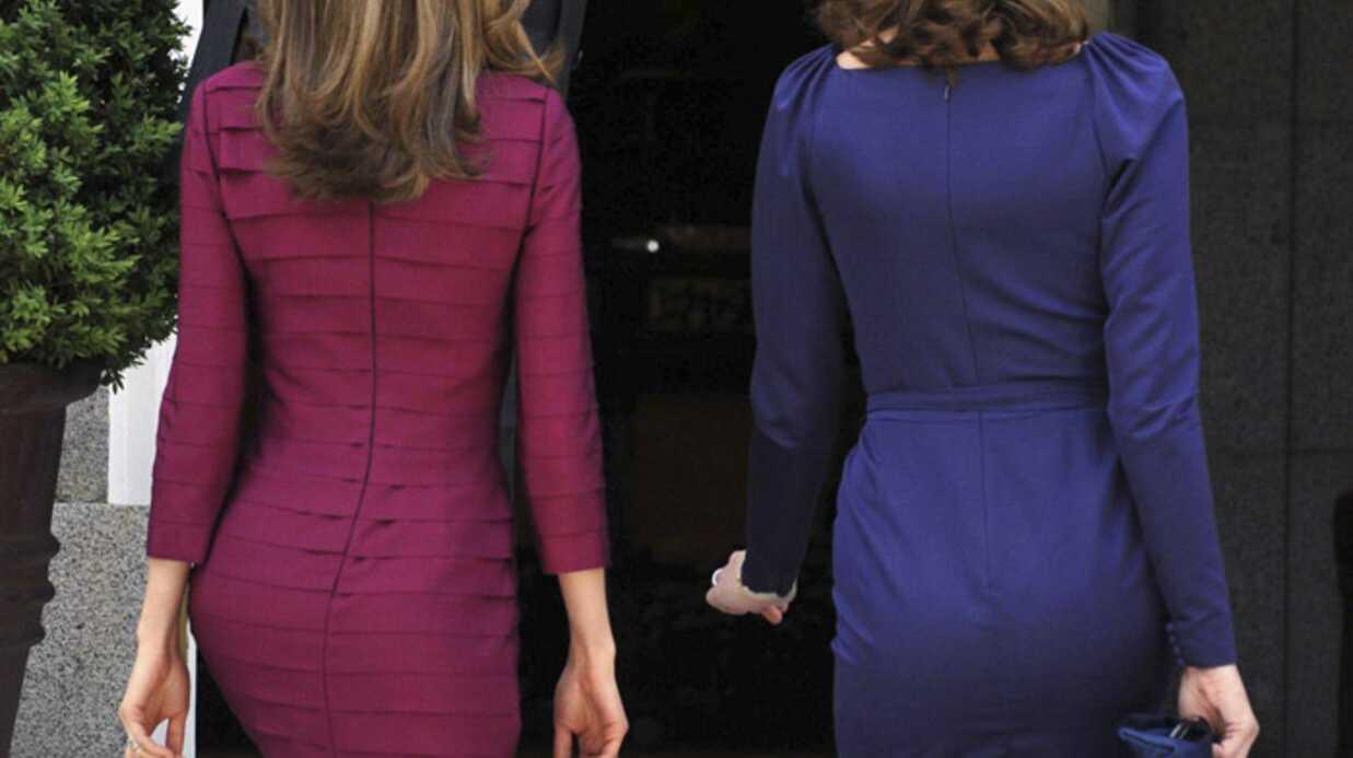 PHOTOS Revue de tenues de Carla Bruni-Sarkozy à Madrid