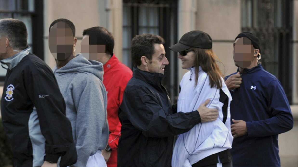 Carla Bruni-Sarkozy et Nico­las Sarkozy : footing à New York