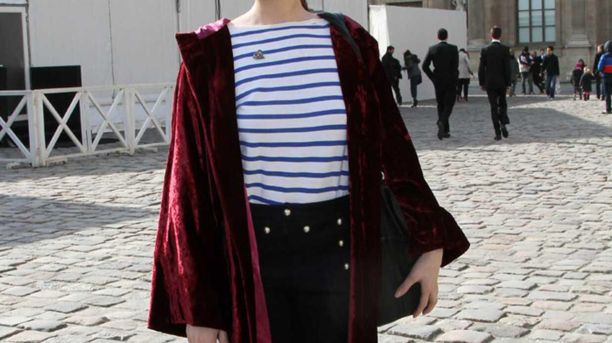 LOOK: Laetitia Casta mal fagottée à la Fashion week