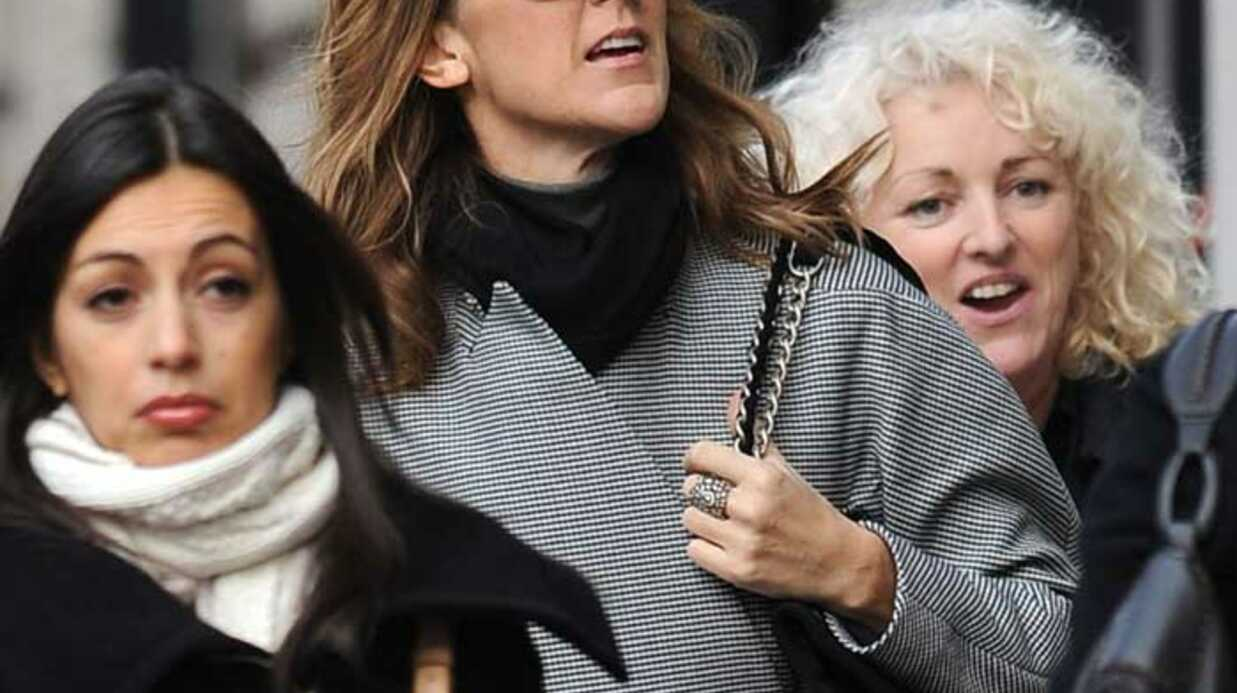 PHOTOS Céline Dion fait son shop­ping sur Madi­son Avenue
