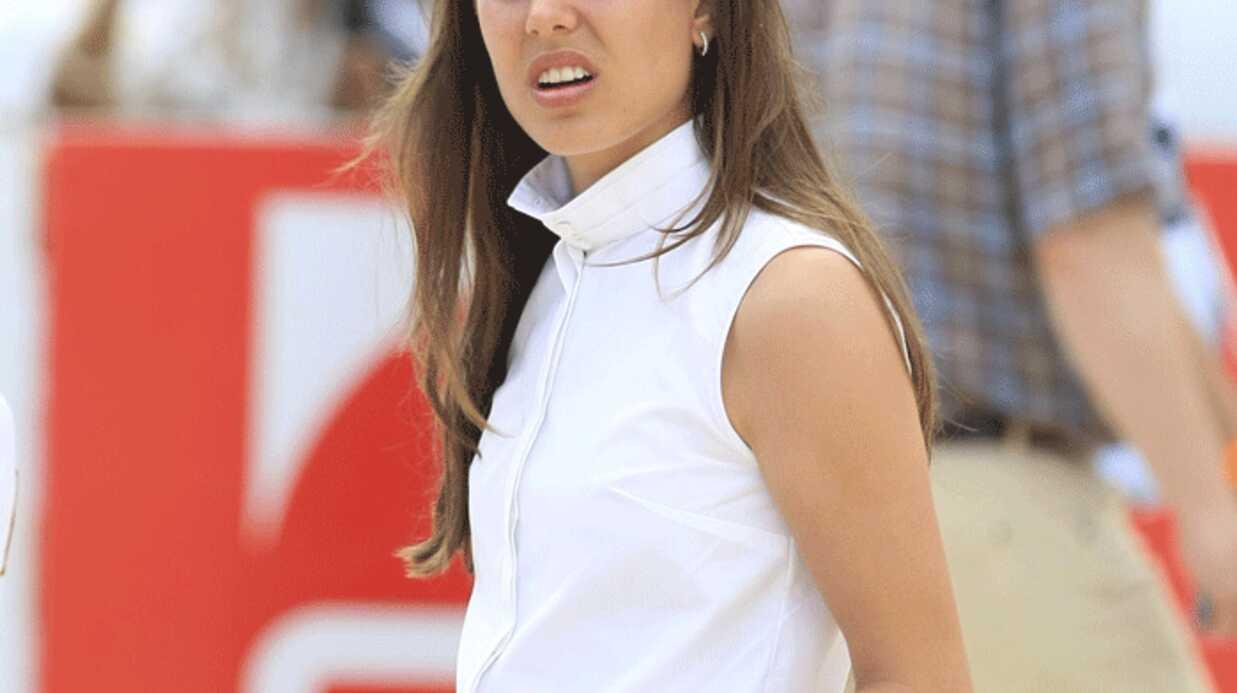 PHOTOS Charlotte Casiraghi au jumping international de Monaco