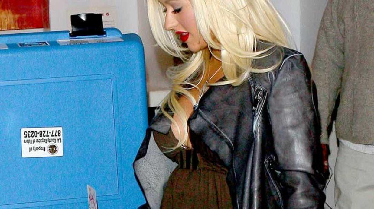 Christina Aguilera Son «Super Tuesday»'!