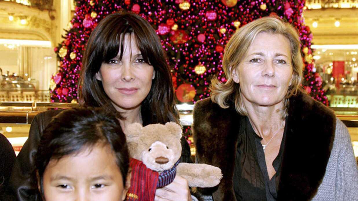 Claire Chazal illumine les Galeries Lafayette