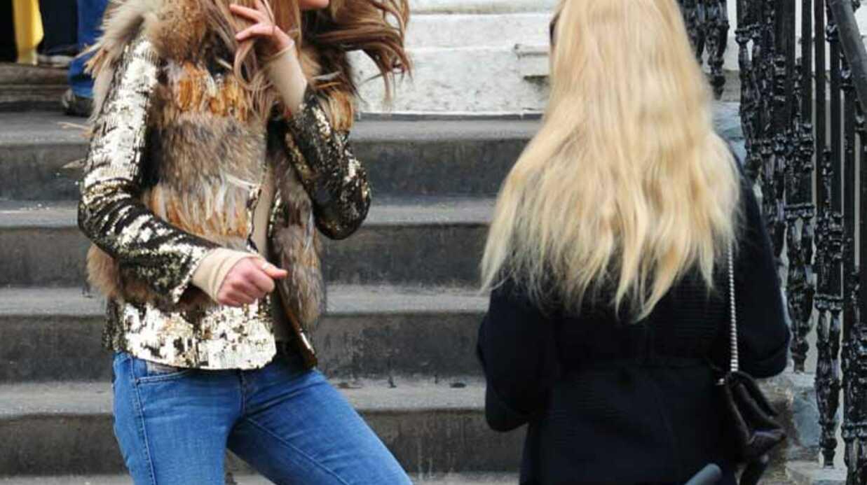 LOOK Claudia Schiffer et Elle MacPherson s'éclatent ensemble