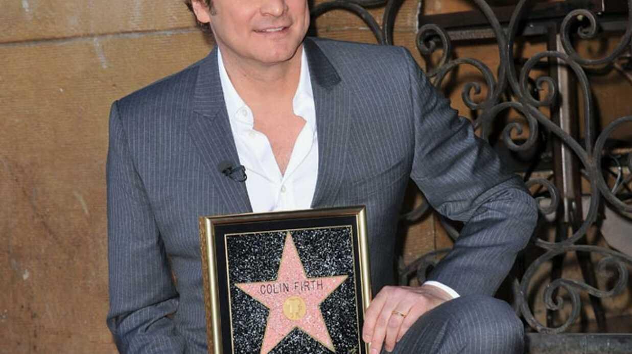PHOTOS Colin Firth a son étoile sur Hollywood Boulevard