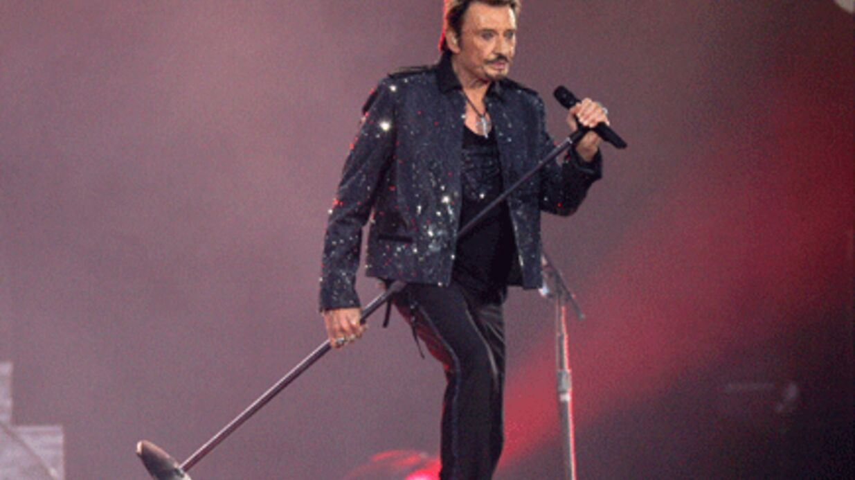 Johnny Hally­day : les photos de son concert au Stade de France