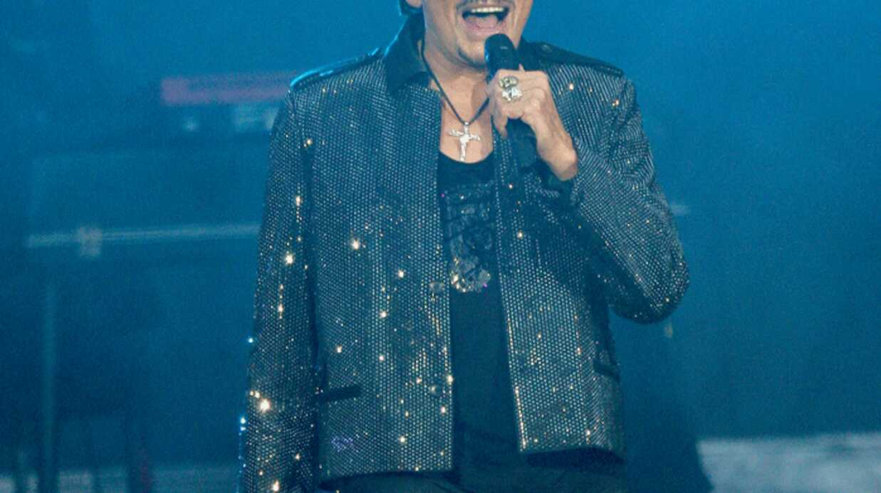 Johnny Hallyday: les photos de son concert au Stade de France