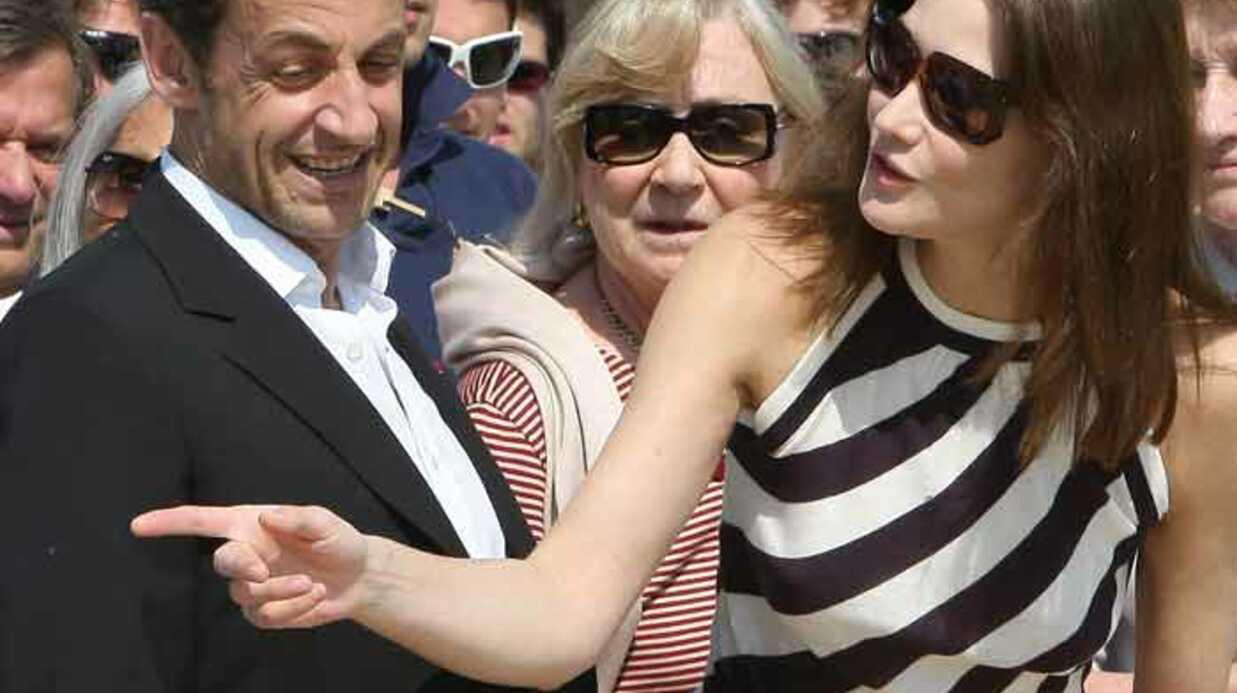 PHOTOS Les Sarkozy à la régate Valerio Bruni-Tedeschi