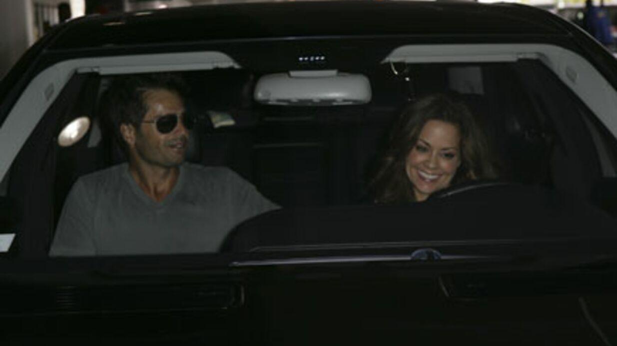 PHOTOS David Charvet retrouve son épouse à Los Angeles