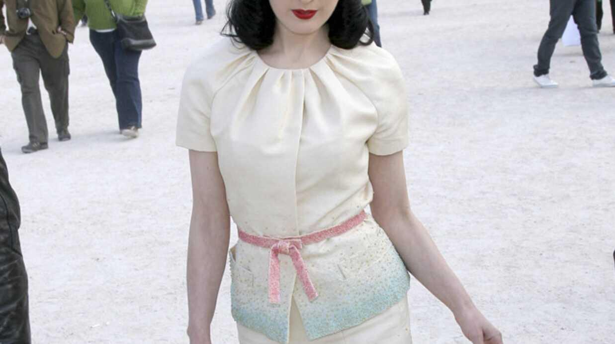 Le défilé Dior au jardin des Tuileries