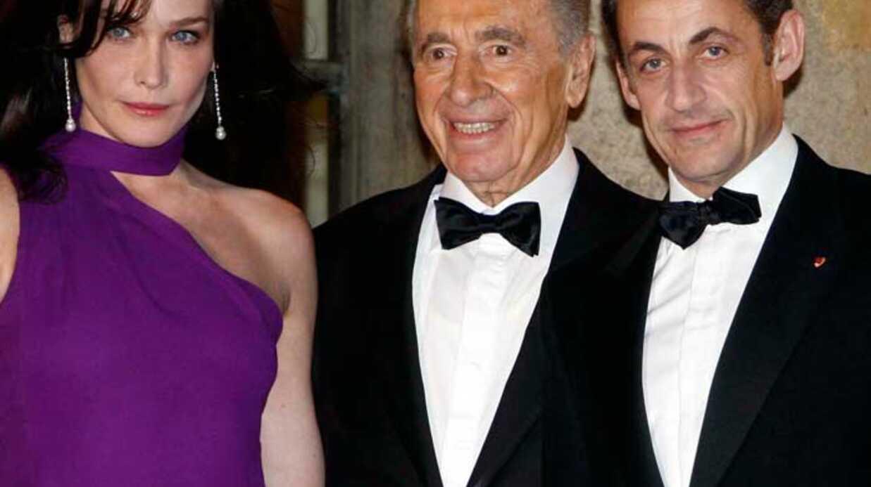 Visite officielle Shimon Peres Dîner V.I.P.