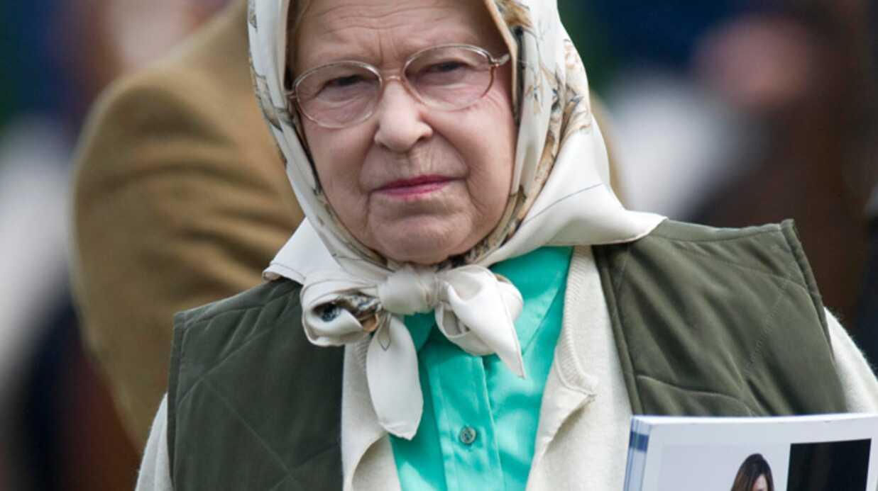Elizabeth II Hommage aux Deschiens